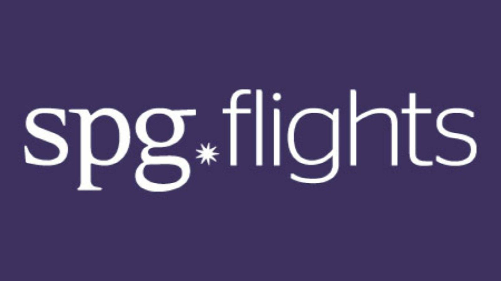 SPG Redemptions | SPG Flights