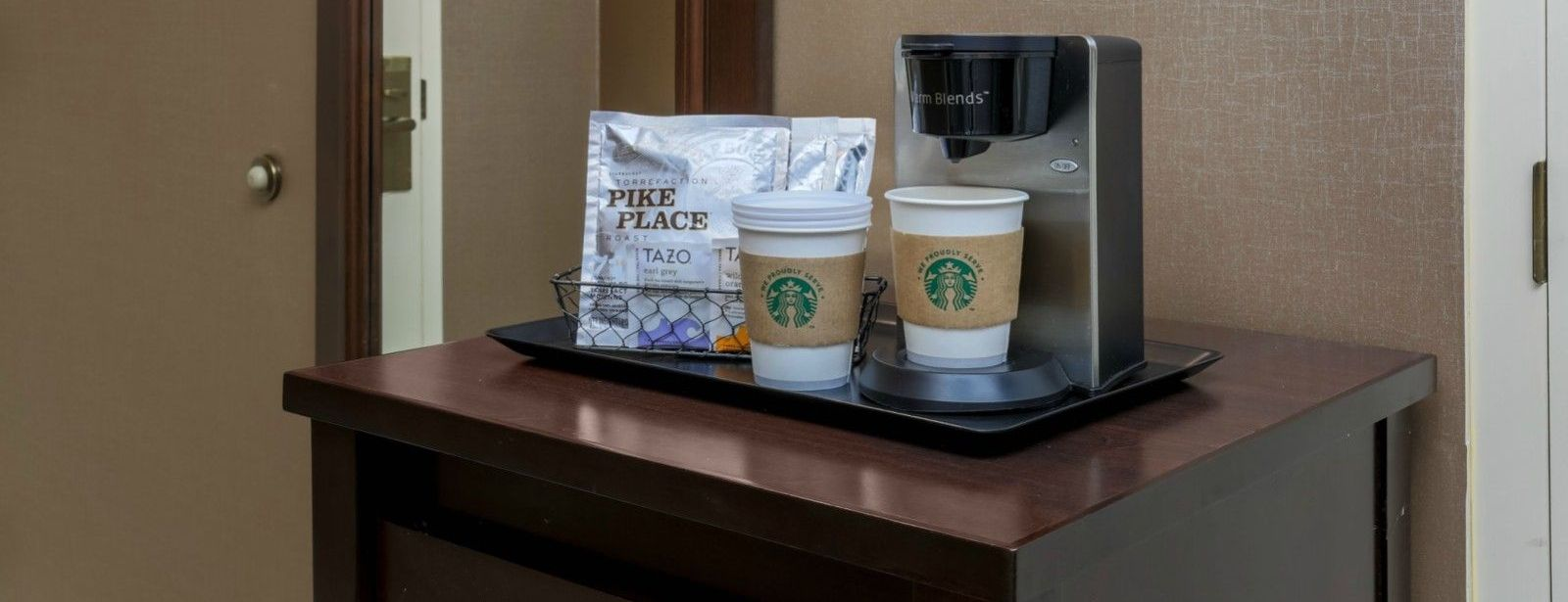 Tarrytown Accommodations - Guest Room Coffee Station